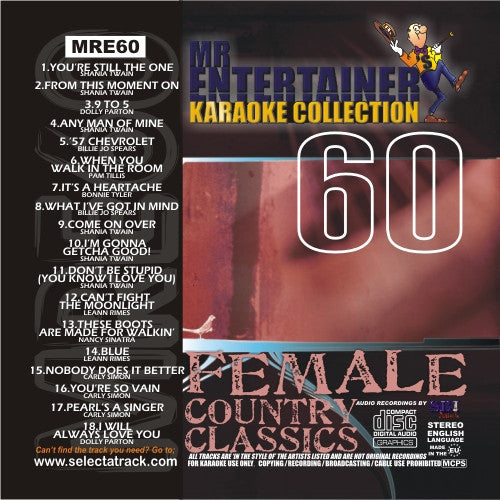 MRE60 - Female Country Classics