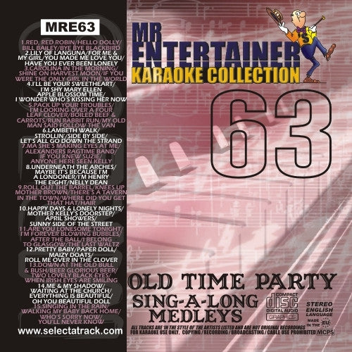 MRE63 - Old Time Party Sing a Long