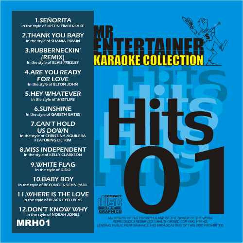 MRH001 - Chart Hits Volume 1  October 2003