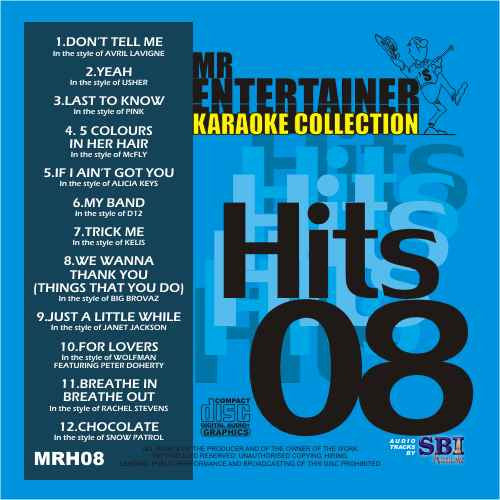 MRH008 - Chart Hits Volume 8  May 2004