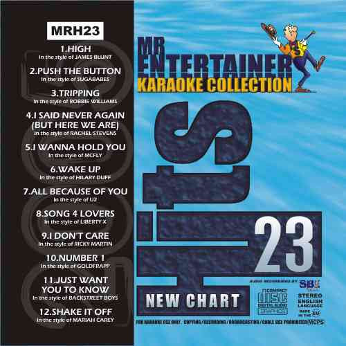 MRH023 - Chart Hits Volume 23  October 2005