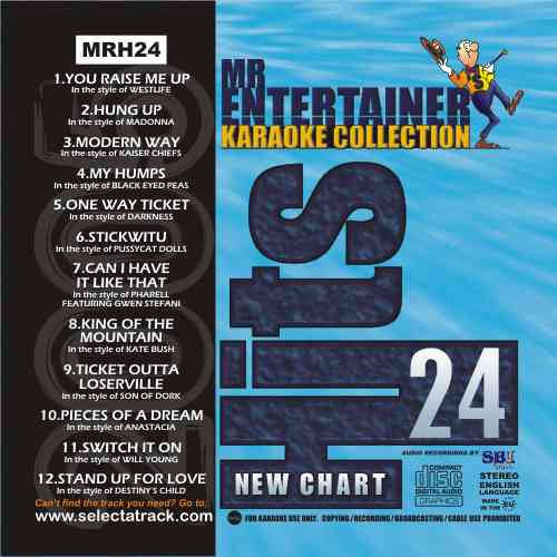 MRH024 - Chart Hits Volume 24  November 2005
