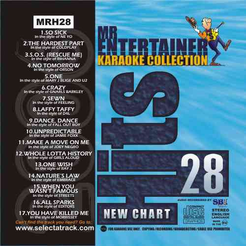 MRH028 - Chart Hits Volume 28  April 2006