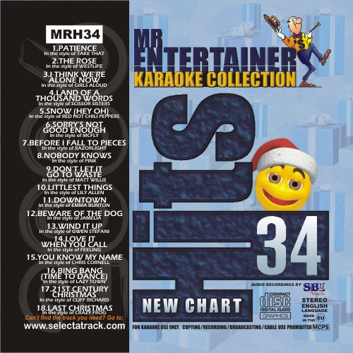 MRH034 - Chart Hits Volume 34  December 2006