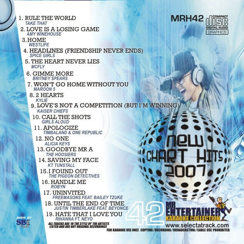MRH042 - Chart Hits Volume 42  Nov/Dec 2007