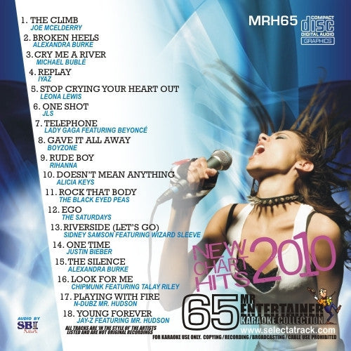 MRH065 - Chart Hits Volume 65  January 2010