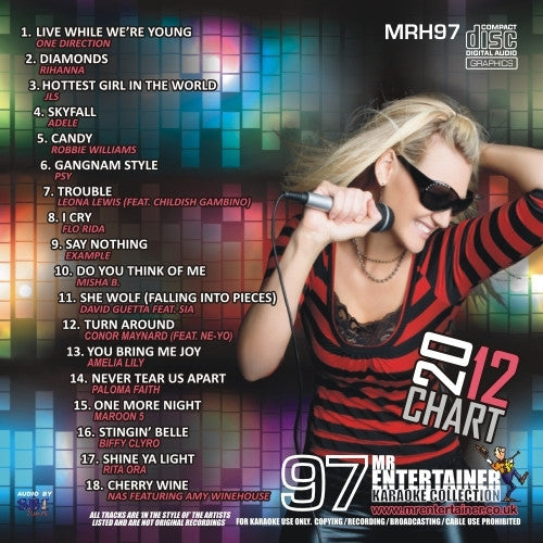MRH097 - Chart Hits Volume 97  October 2012