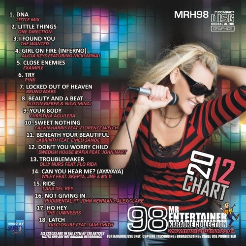 MRH098 - Chart Hits Volume 98  November 2012