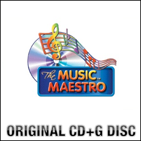 Music Maestro Karaoke CDG Disc - Contemporary Crooners - MM6410