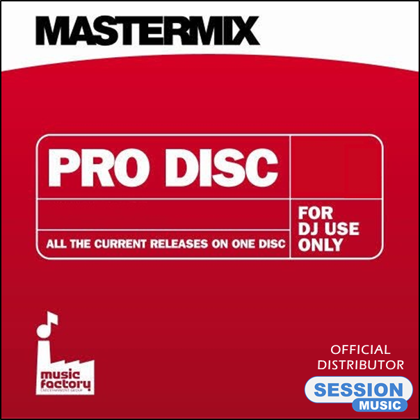 MasterMix DJ CD - Pro Disc 154 - April 2013