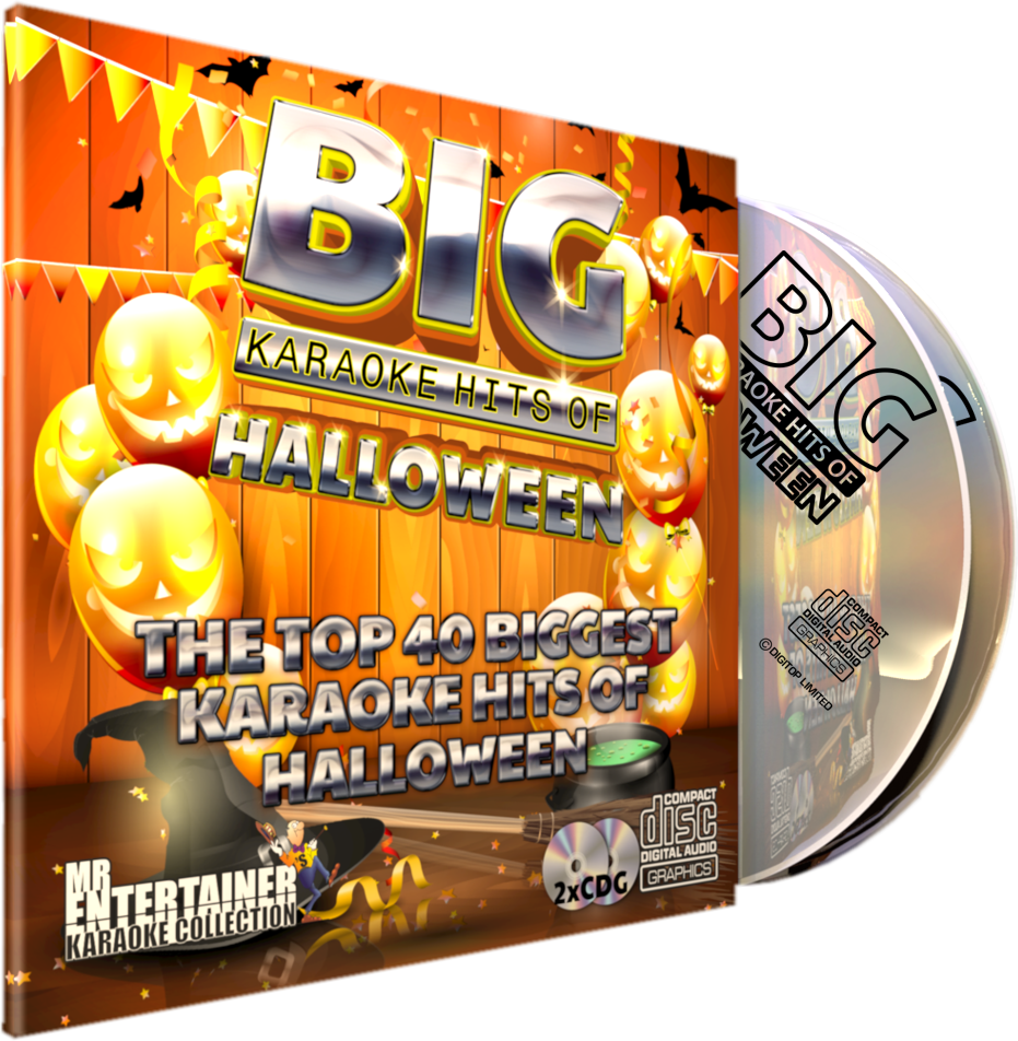 Mr Entertainer Big Karaoke Hits of Halloween