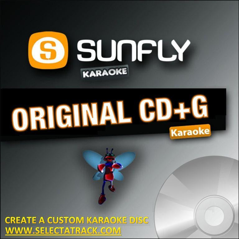 Sunfly Karaoke CDG Disc SF925 - MOST WANTED