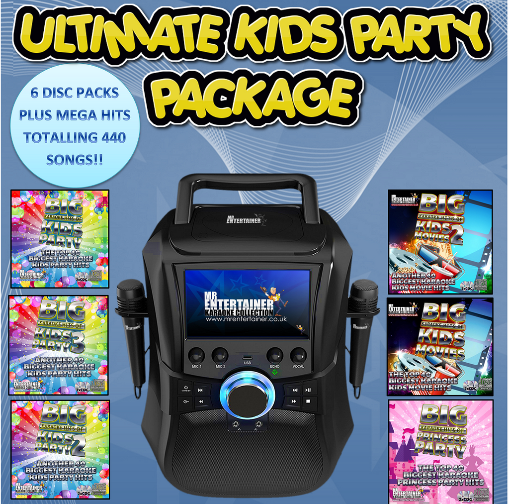 Mr Entertainer Megabox Ultimate Kids Party Package
