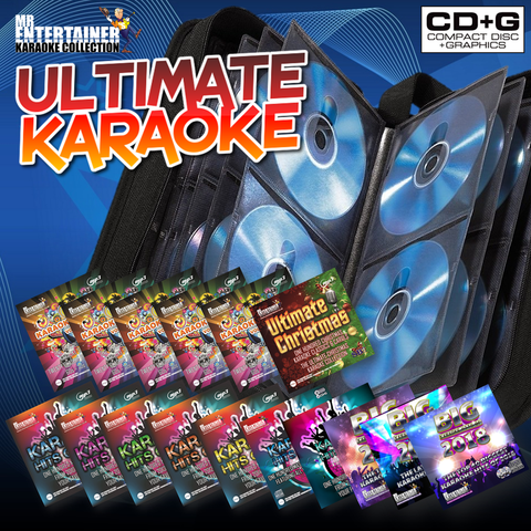 Mr Entertainer Karaoke Ultimate Karaoke Package - Over 1400 Songs