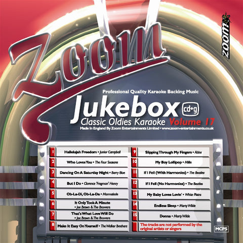Zoom Karaoke ZJB017 Karaoke Jukebox 17