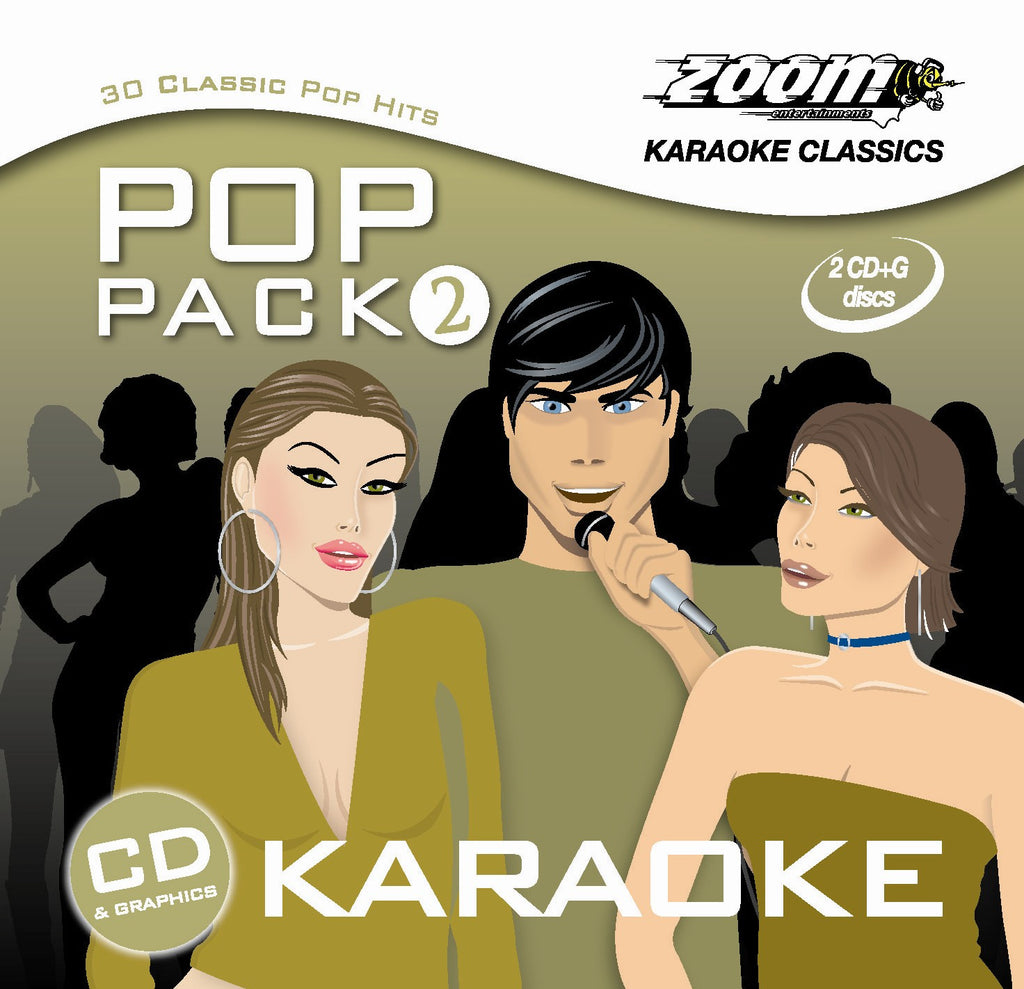 Zoom Karaoke Pop Pack 2