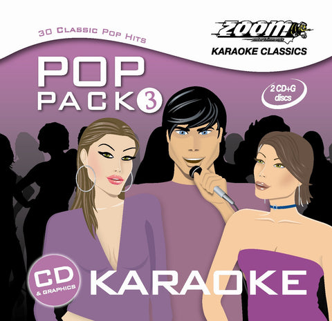 Zoom Karaoke Pop Pack 3