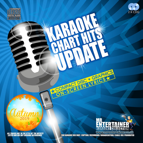 Mr Entertainer Karaoke Chart Hits Update Double CDG Pack - Autumn 2019