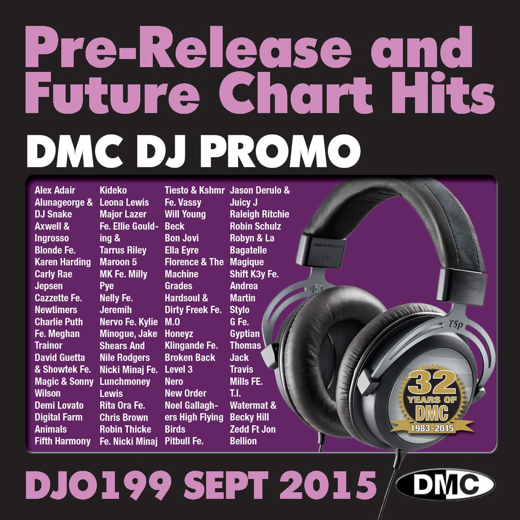 DMC DJ Promo 199 Double CD Compilation September 2015