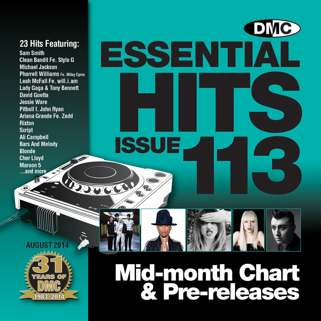DMC Essential Hits 113 August 2014