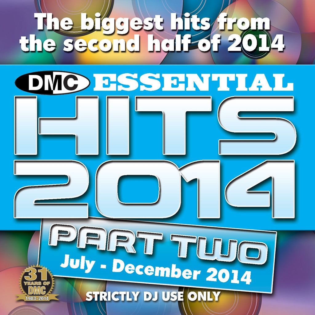 DMC Essential Hits 2014 Part 2 (July- Dec 2014)