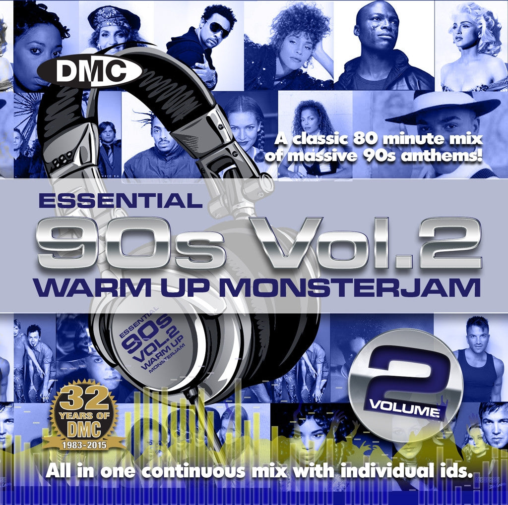 DMC Essential 90s Warm Up Monsterjam Vol 2