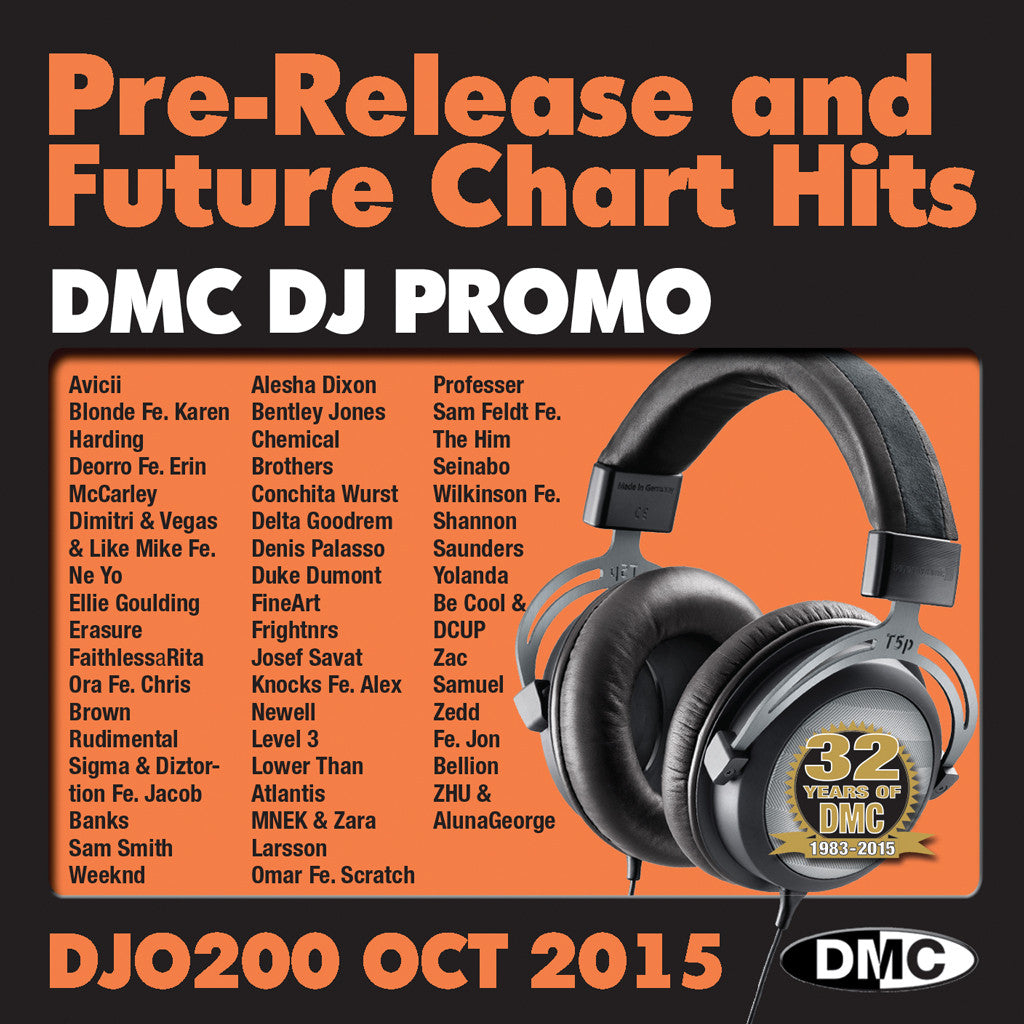 DMC DJ Promo 200 October 2015