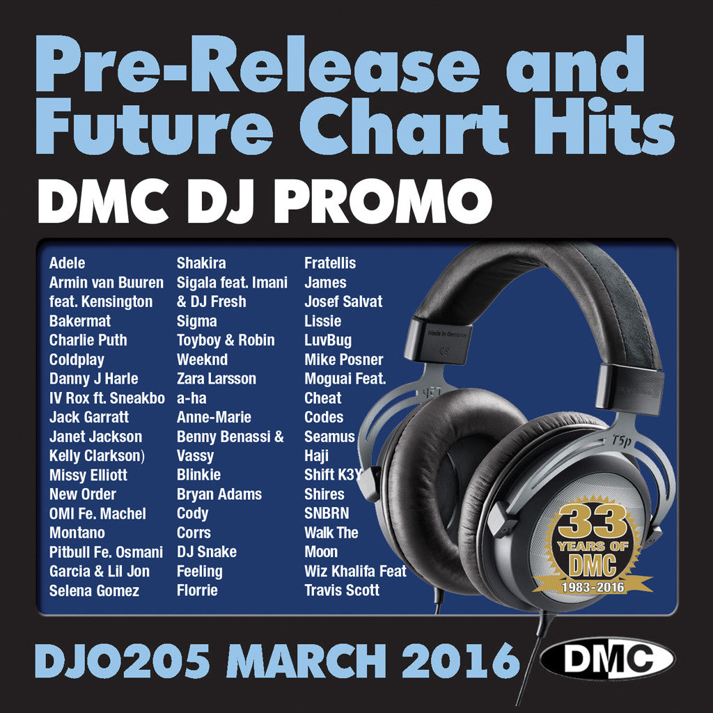 DMC DJ Promo 205 March 2016