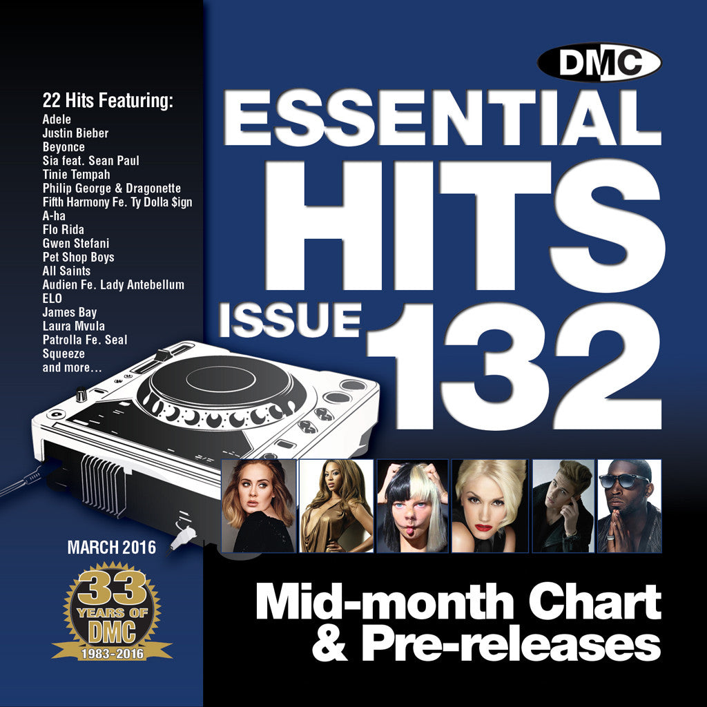 DMC Essential Hits 132 March 2016