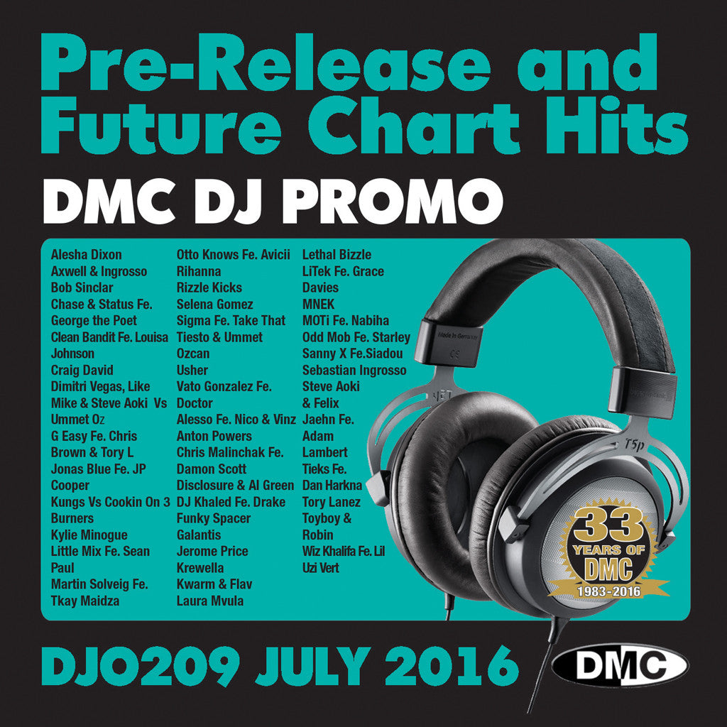 DMC DJ Promo 209 July 2016