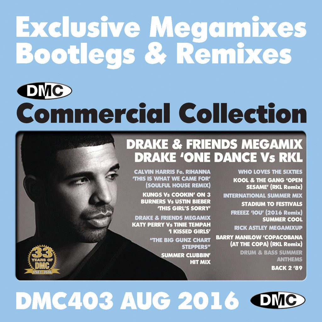 DMC Commercial Collection 403 August 2016
