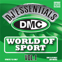 DMC DJ Essentials World Of Sport 1