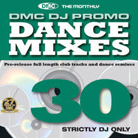 DMC DJ Only Dance Mixes 30