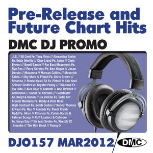 DMC DJ Promo 157 Double CD Compilation March 2012