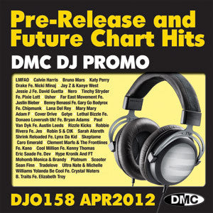 DMC DJ Promo 158 Double CD Compilation April 2012