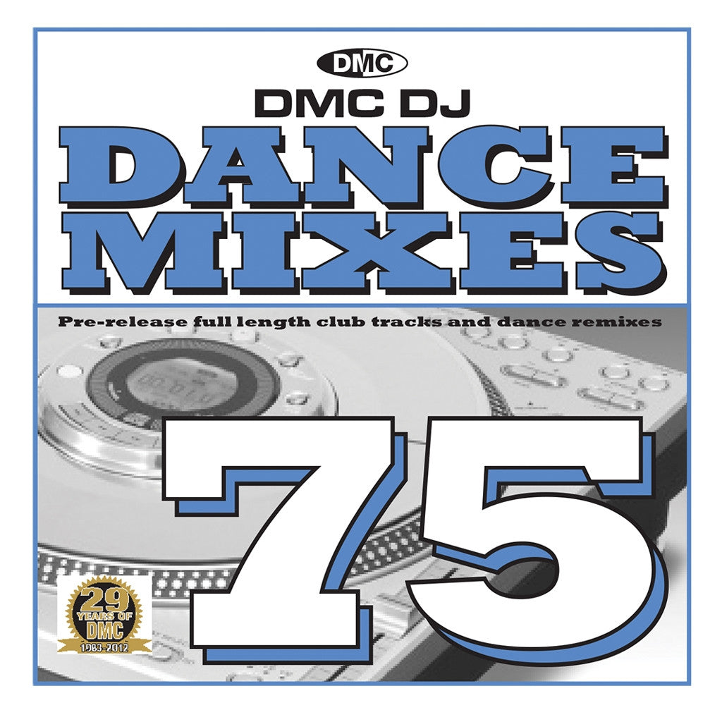 DMC Dance Mixes 75 November 2012