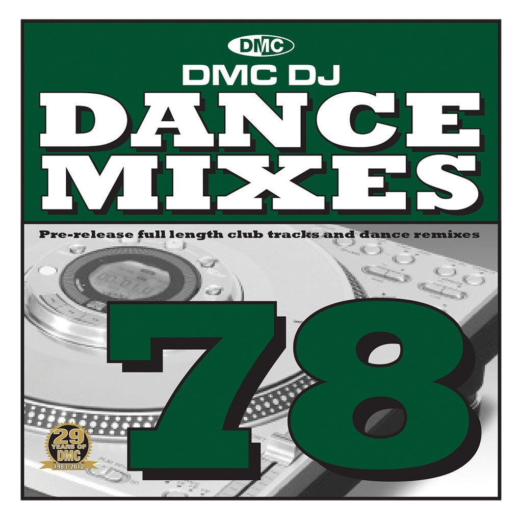 DMC Dance Mixes 78 January 2013