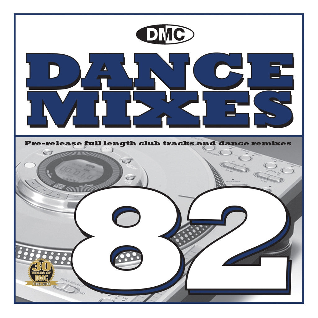 DMC Dance Mixes 82 March 2013