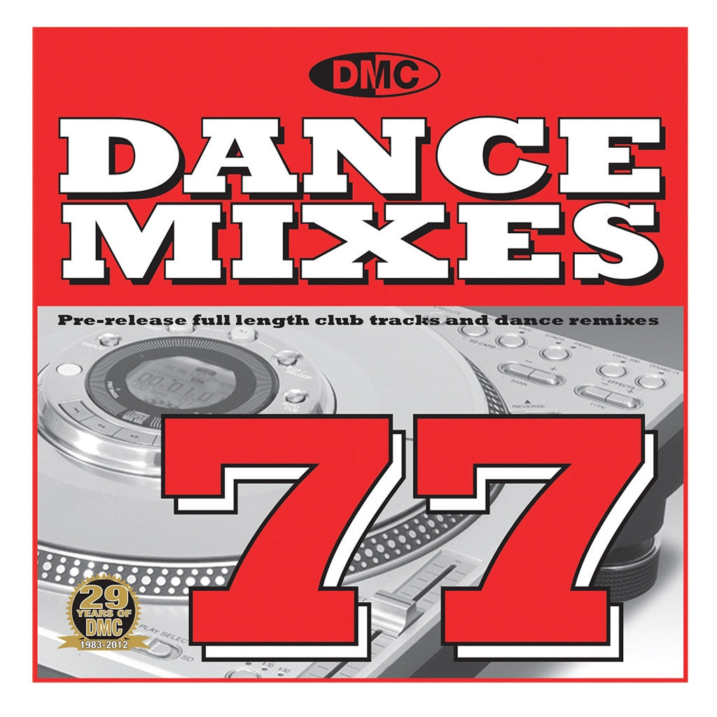 DMC Dance Mixes 77 2012