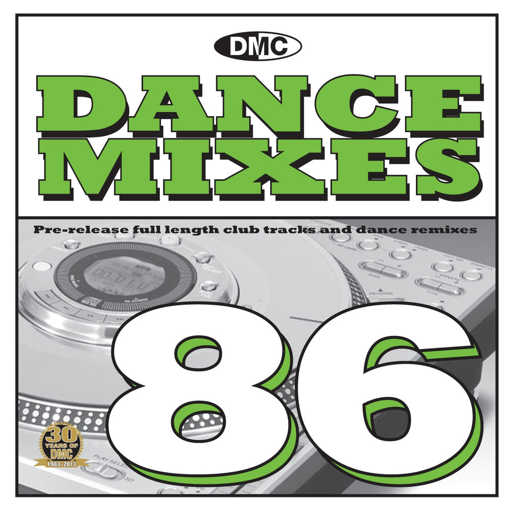 DMC Dance Mixes 86