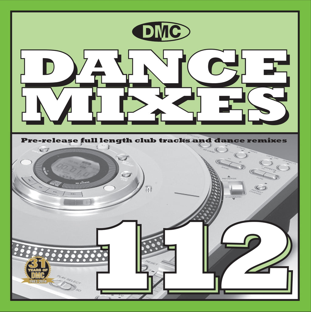 DMC Dance Mixes 112