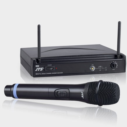 JTS E-6TH UHF PLL Wirless Microphone System - Handheld