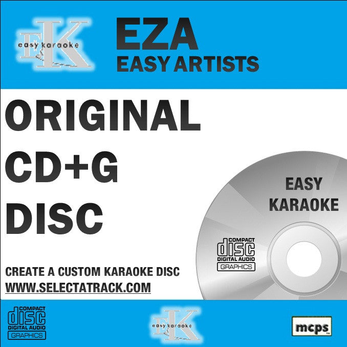 Easy Karaoke Artists CDG Disc EZA03 - STEREO + TRAVIS Vol 2