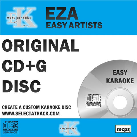 Easy Karaoke Artists CDG Disc EZA08 - ROBBIE WILLIAMS/SWING