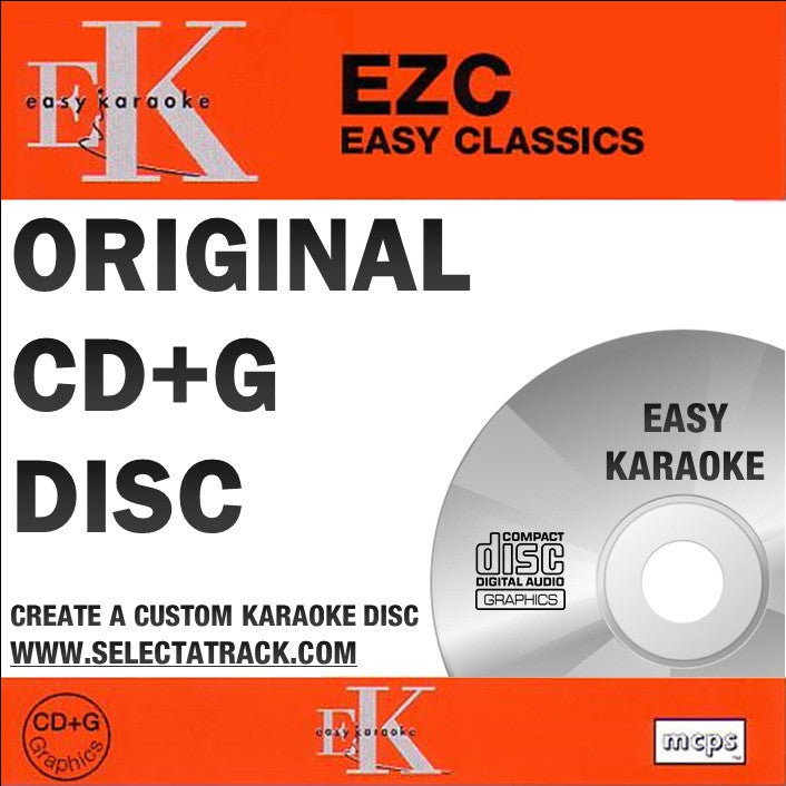 Easy Karaoke Classics CDG Disc EZC096 - FEMALE HITS