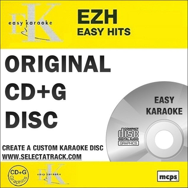 Easy Karaoke Hits CDG Disc EZH74 - Easy Chart Hits