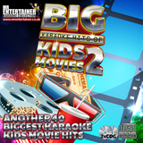 Mr Entertainer Big Karaoke Hits of Kids Movies Vol 2