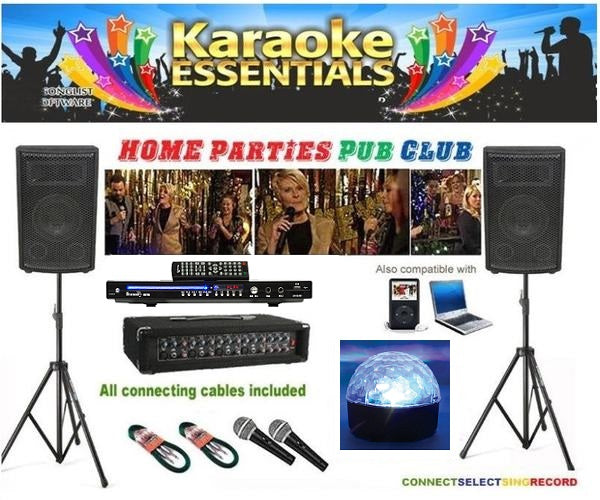Pro Karaoke PA System Package for Pubs/Clubs