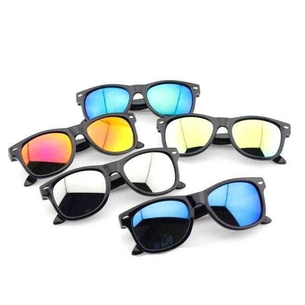 FCFO Vintage Baby Boy Girls Kids Sunglasses Top Fashion Coating Sunglasses Children Sun Glasses Oculos De Sol Gafas Infantile