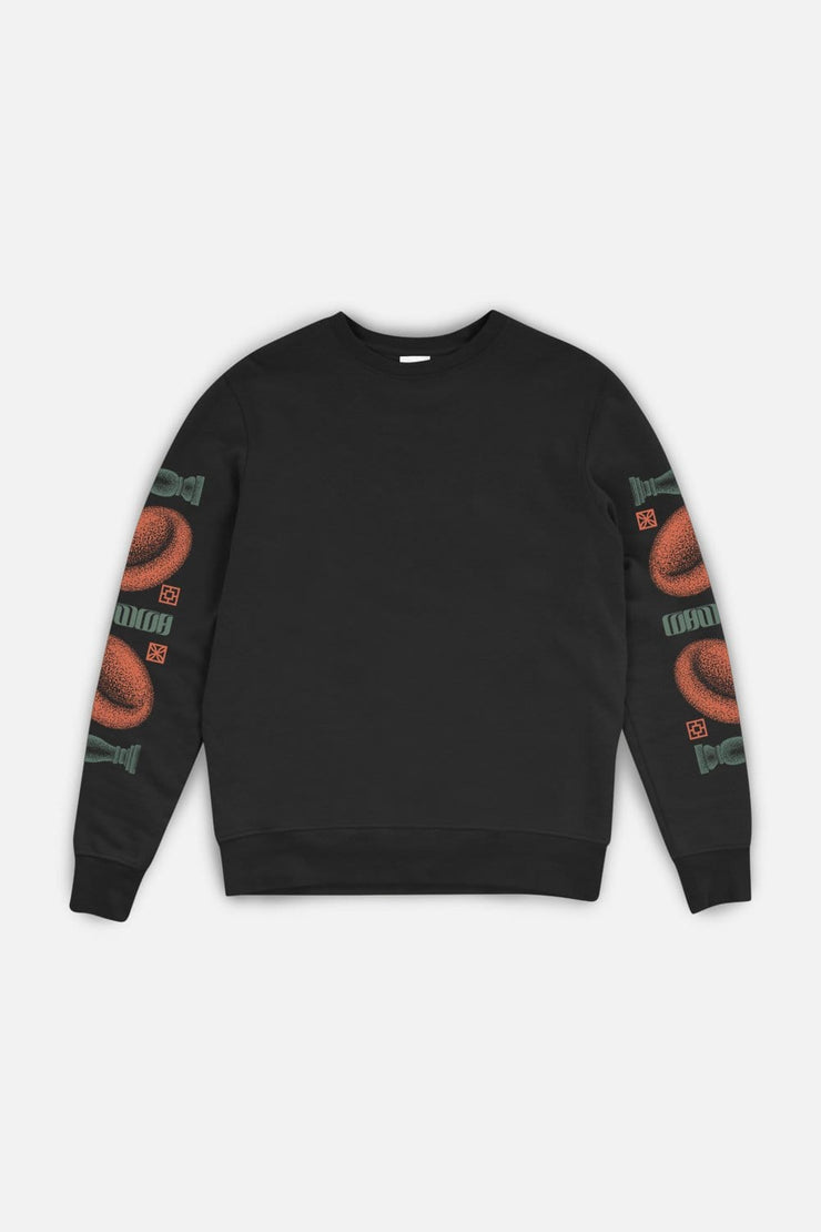 Coranzuli Sleeve Sweatshirt Black